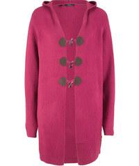 8c4a1c2a1c93 Bonprix Dlhý pletený sveter s kapucňou