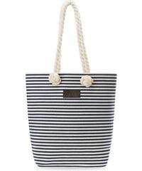 c85d5d41b4 World-Style.cz Plátěná eko taška plážová na nákupy shopper bag námořnický  styl s