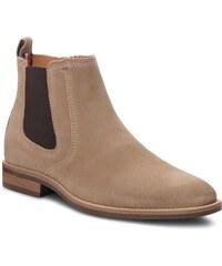 Outdoorová obuv TOMMY HILFIGER - Essential Suede Chel FM0FM01087 Taupe Grey  005 ecc9b76a988