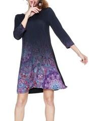 Desigual fialové šaty Troya - S 79ac632e0c