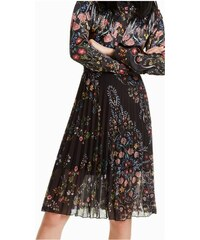 7aff8634972 Desigual plisovaná sukně Frida 18WWFW04