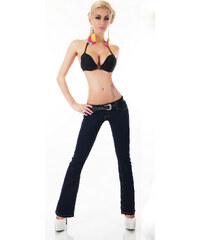 b22c50b6f98 Simply Chic Dámské džíny s opaskem
