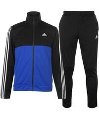 eb4acba0ac33 Súprava pánska Adidas 3 Stripe Basic Poly Black Blue Wht