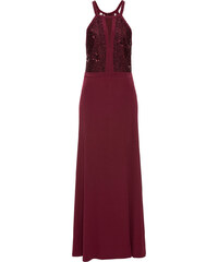Bonprix Večerné šaty s čipkou a flitrami b33bc767af
