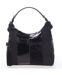 fde1773490 Černá trendy dámská kabelka Mc Mary Chanel