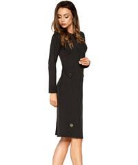 Malé černé šaty s dlouhým rukávem  72e720d4e53