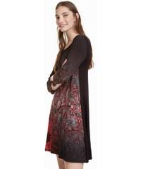 šaty Desigual Jaipur negro 072f866c81