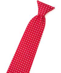 c6e16b4c8e5 Avantgard Bavlněná červená kravata s bílými puntíky 558-5137-0