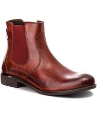 Kotníková obuv s elastickým prvkem LASOCKI - RST-MESA-04 Burgundy 81a403df19