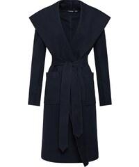 Boohoo Přechodný kabát námořnická modř f0f9904175