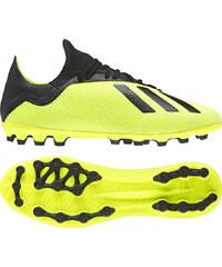 Pánske kopačky lisovky adidas Performance X 18.3 AG (Žltá   Čierna   Biela) cba164122f3