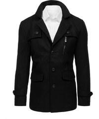 Brand Pánsky čierny kabát (cx0377) cx0377 335544d5408