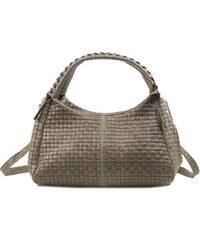 Béžová kožená kabelka Infinitif Yolande 21a390d7f1b