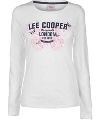 Lee Cooper Long Sleeve Logo T Shirt Ladies cb6b864de5