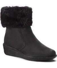 Magasított cipő CAPRICE - 9-26441-21 Black Nubuc 008 9515937702