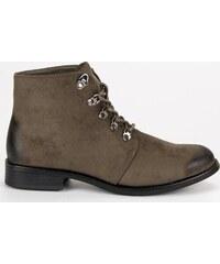 1db351edf701e Členkové topánky s viazaním VINCEZA HX19-16045 KH