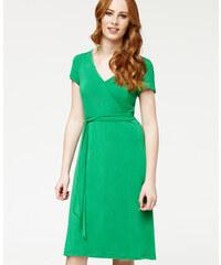 ff6fe2e4d668 Misfit London Zelené zavinovací šaty Isla