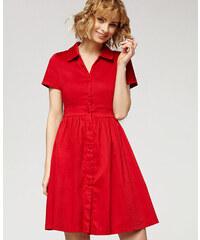 Misfit London Ohnivě elegantní swingové šaty Josephine 601721f188