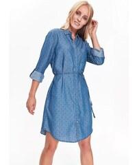 Top Secret šaty dámské jeans s puntíky 917d0d23fe