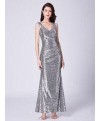 8c21d57eced Ever Pretty stříbrné flitrované šaty 7405