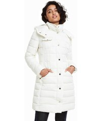 Bílý vzorovaný kabátek Desigual Susi - Glami.cz c6f18f2d01