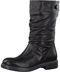 Tamaris Elegantné dámske čižmy 1-1-25975-39-001 Black 20836caeac0
