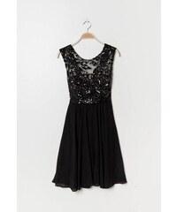 Eva   Lola Dámské černé šaty krátké 1298 Lucy 55e69f41430