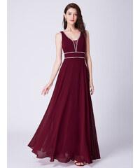 Ever Pretty dlouhé plesové šaty bordó 7442 e50c5fb30a