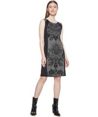 Desigual Dámské šaty Vest Corina Negro 18WWVK91 2000 4a619fcbe8