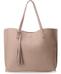 World-Style.cz Módní dámská kabelka shopper s třásněmi růžová 5cda3bae65b