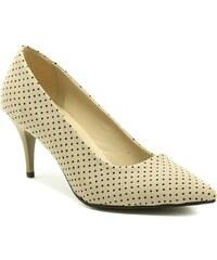 63bfdcca2b4 Ricci shoes Ricci 18053 béžové dámské letní lodičky