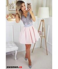 Růžové svatební společenské šaty - Glami.cz 571fac3020