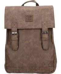 Moderní dámský batoh Enrico Benetti Vilma - tmavě hnědá 1b08f856f90