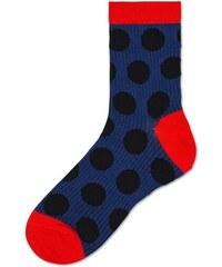 Dámské tmavě modré ponožky Happy Socks Viktoria    kolekce Hysteria-36-38 d7edb87fe4