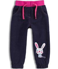 bf107abdce2 Dívčí kalhoty Mix´nMATCH BUNNY růžový pas