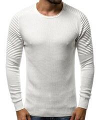 Bílé pánské svetry bez kapuce - Glami.cz 0e5b8f2dd2d