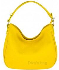 Diva Természetes bőr Sárga cod. S7092-Yellow 86189f044a
