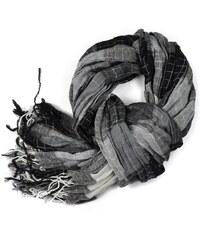 ArtOfPolo pánská podzimní šála Gentle Černá e041c3d44e