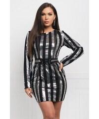 d515a6d02505 Na párty Šaty s dlhým rukávom z obchodu Selectafashion.com