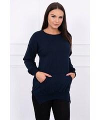 8409ec47b736 Tmavo modré Dámske oblečenie z obchodu MladaModa.sk