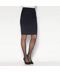 69adffb3da44 VENCA Puzdrová sukňa s rozparkom čierna 38