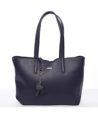 Moderní kabelka přes rameno černá - David Jones Nabyela modrá fe822e30ac2