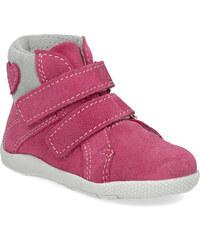 Bubblegummers Růžová kotníčková dětská obuv ee72bbb5662