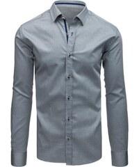 16fa7e731d2 Manstyle Pánská STYLE košile elegantní šedá
