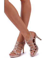 f5237415691e Menbur Zlaté sandále Camigliano