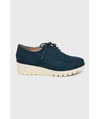 Modré Dámske topánky  6101d9406da