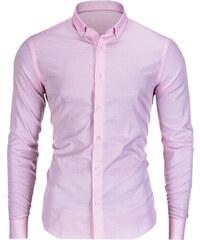 1578201d726a Ombre Clothing Pánska button-down košeľa Neil ružová