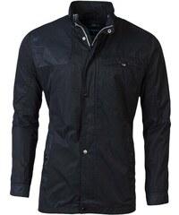 Čierne Pánske bundy a kabáty bez kapucne  3de8f14f17f