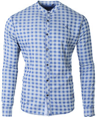 42e7de62c23 Repablo Moderní pánská košile Project modrá