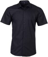 8f74cde6960 MMER Pánská košile s krátkým rukávem Vinnie černá